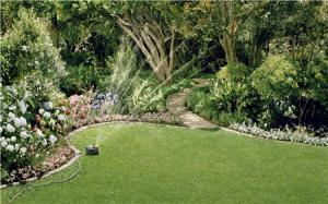 Полив садового участка практически любой конфигурации с учетом конкретных требований к поливу