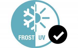 Устойчив к морозу и ультрафиолету